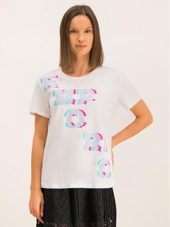 Emporio Armani Emporio Armani T-Shirt 6G2T7F 2J06Z 0100 Weiß Regular Fit