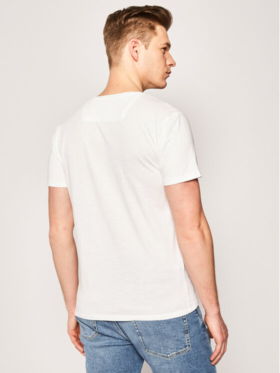 Guess Guess T-Shirt Pocket Tee M0GI55 K6XN0 Weiß Slim Fit