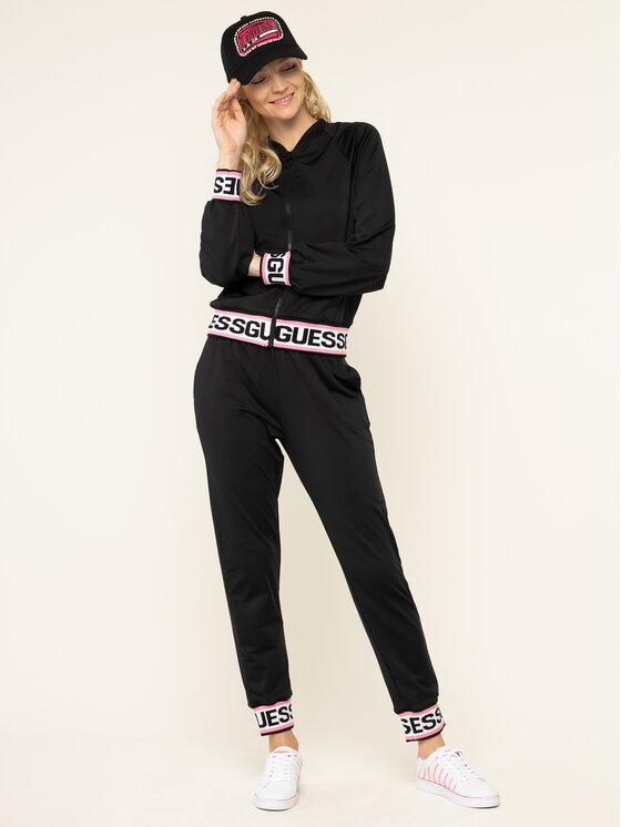 Guess Guess Sweatshirt Karin W01Q85 RJQ30 Schwarz Slim Fit
