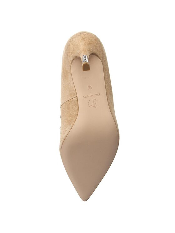 Eva Minge Eva Minge Pantofi cu toc subțire Adoria 1E 17SF1372168ES Bej