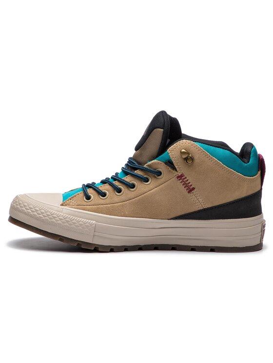 Converse Converse Sneakers aus Stoff Ctas Street Boot Hi 162359C Beige