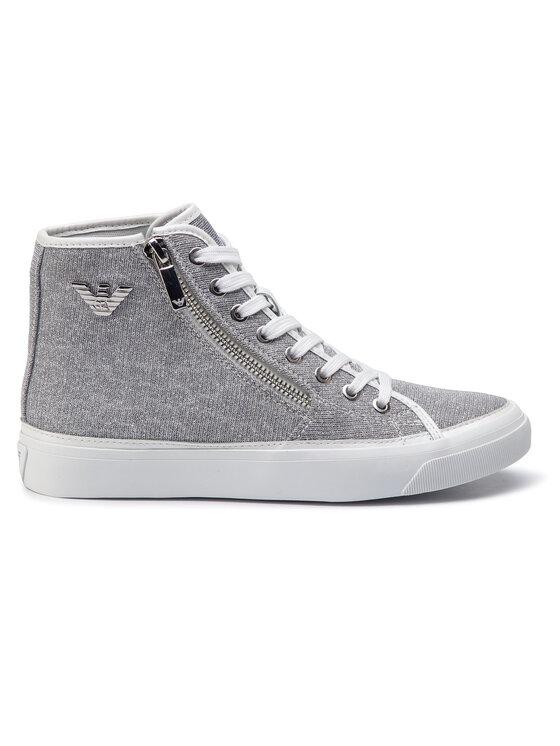 Emporio Armani Emporio Armani Sneakers X3Z017 XL487 A646 Argent