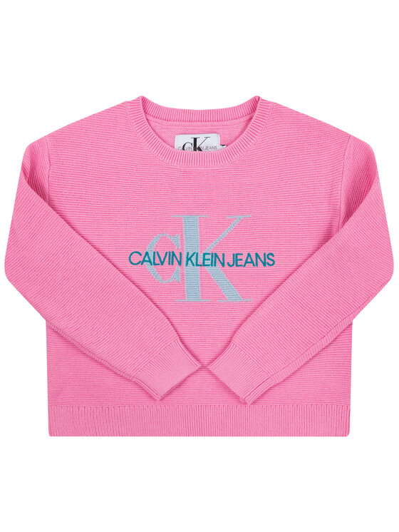 Calvin Klein Jeans Calvin Klein Jeans Maglione IG0IG00207 Rosa Regular Fit