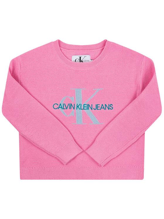 Calvin Klein Jeans Calvin Klein Jeans Пуловер IG0IG00207 Розов Regular Fit
