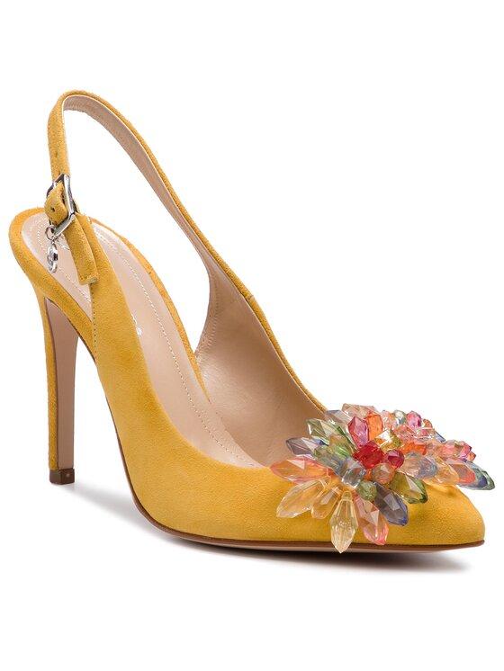 Solo Femme Solo Femme Sandały 34297-A8-G22/000-05-00 Żółty