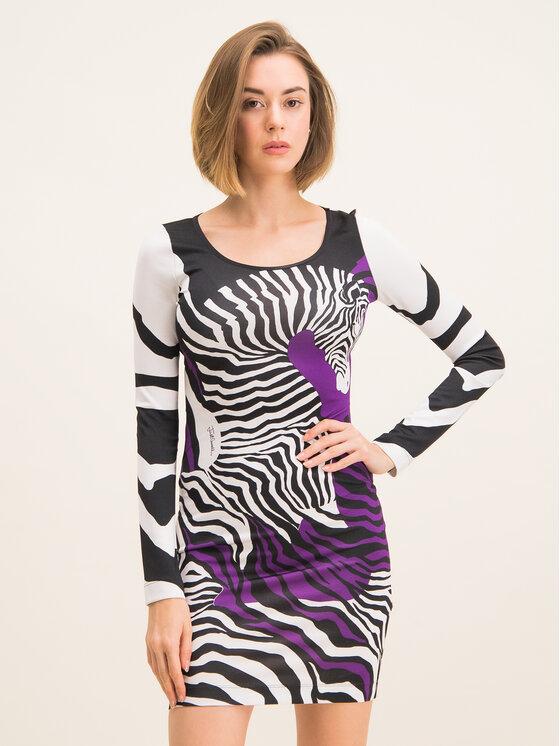 Just Cavalli Just Cavalli Kleid für den Alltag S04CT0945 Bunt Slim Fit