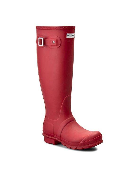 Hunter Guminiai batai Original Tall W23499 Raudona