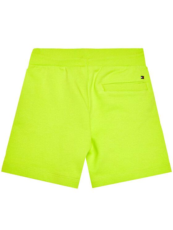 Tommy Hilfiger Tommy Hilfiger Szorty sportowe Essential KB0KB05671 M Zielony Regular Fit