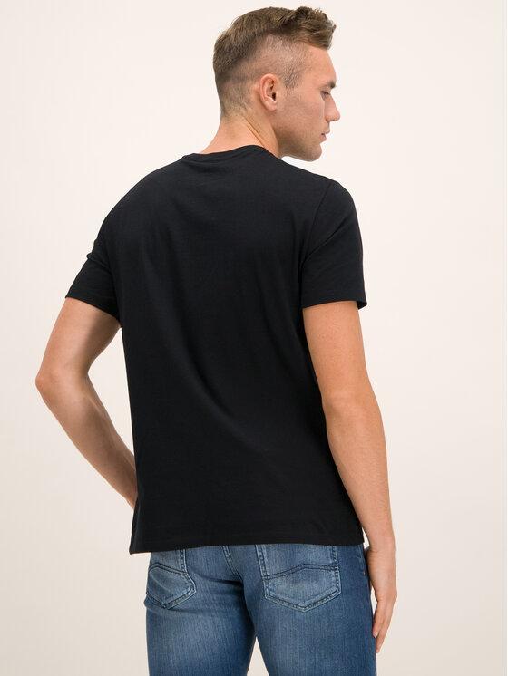 Armani Exchange Armani Exchange Tričko 6GZTAU ZJA5Z 1200 Čierna Regular Fit