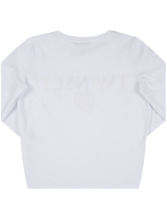 TWINSET TWINSET Bluse 999GJ2010 Weiß Regular Fit