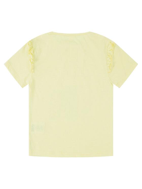 Billieblush Billieblush T-Shirt U15721 Żółty Regular Fit