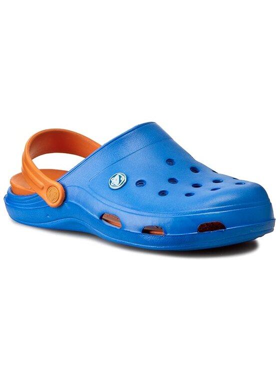 Coqui Coqui Mules / sandales de bain Brody COQUI B1102 Royal/Orange Bleu