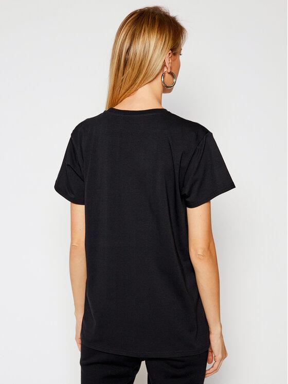 PLNY LALA PLNY LALA T-Shirt Prima PL-KO-CL-00207 Czarny Classic Fit
