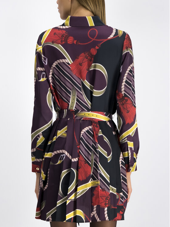 Marciano Guess Marciano Guess Sukienka koszulowa 94G804 7527Z Kolorowy Regular Fit