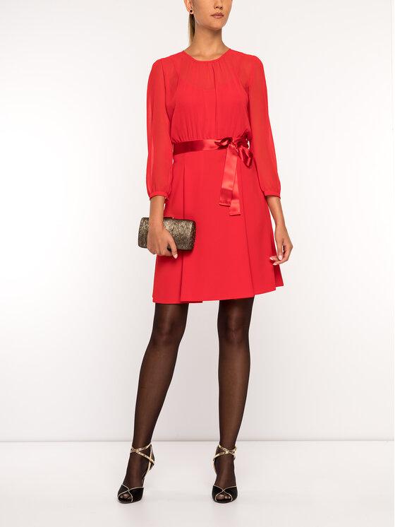 iBlues Kokteilinė suknelė 72261796 Raudona Regular Fit
