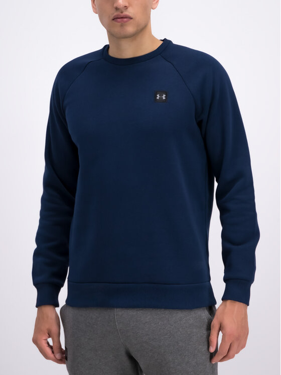 Under Armour Under Armour Bluza 1320738 Granatowy Loose Fit