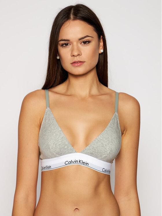 Calvin Klein Underwear Calvin Klein Underwear Braletė liemenėlė 000QF1061E Pilka