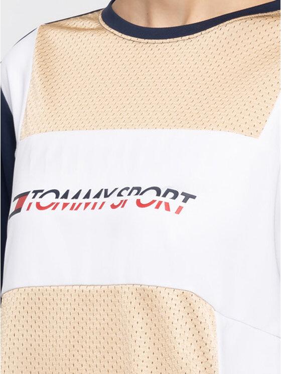Tommy Sport Tommy Sport T-Shirt S10S100194 Barevná Regular Fit