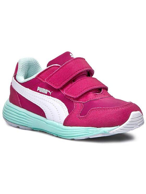 Puma Puma Halbschuhe Future St Runner V Kids 358302 03 Rosa