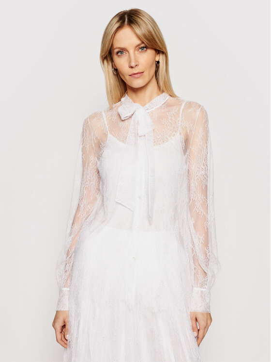 Ermanno Firenze Marškiniai CM15PIZ Balta Regular Fit