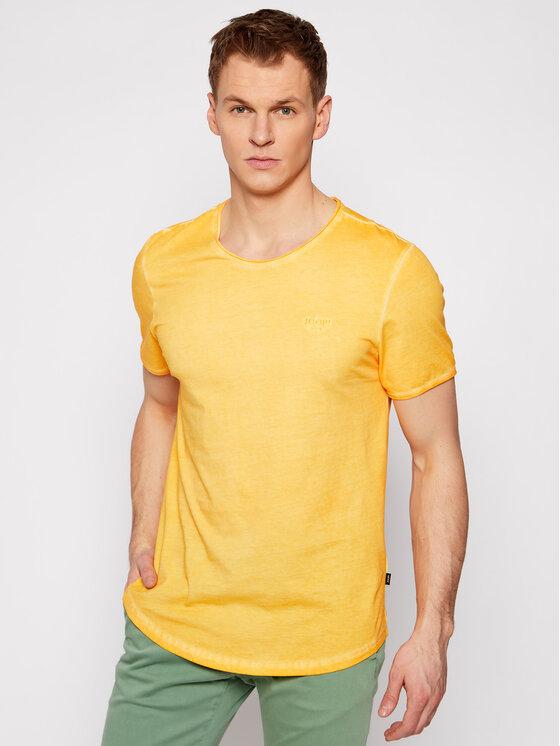 Joop! Jeans Marškinėliai 15 Jjj-06Clark 30019650 Geltona Modern Fit