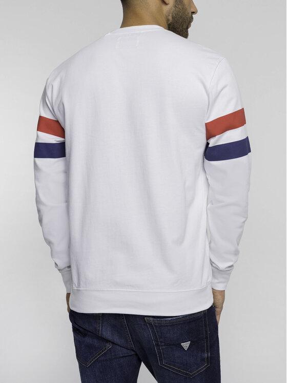 Guess Guess Sweatshirt M92Q22 K8GV0 Blanc Regular Fit