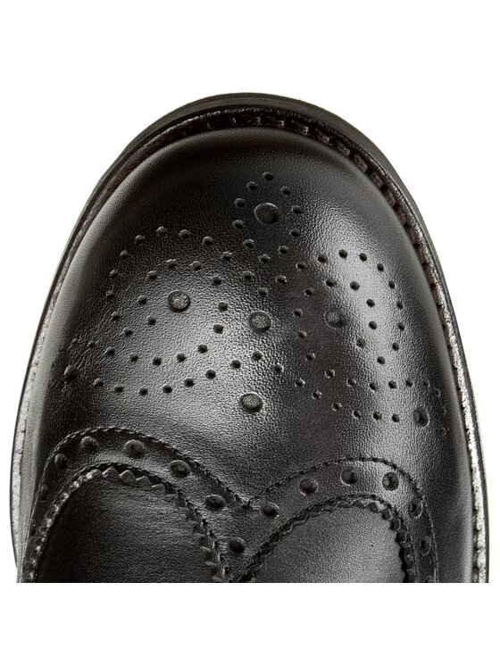 Tommy Hilfiger Tommy Hilfiger Обувки Dominic 1A FM56821924 Черен