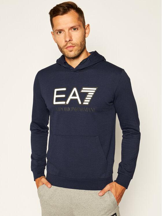 EA7 Emporio Armani EA7 Emporio Armani Džemperis 6HPM62 PJ05Z 0554 Tamsiai mėlyna Regular Fit