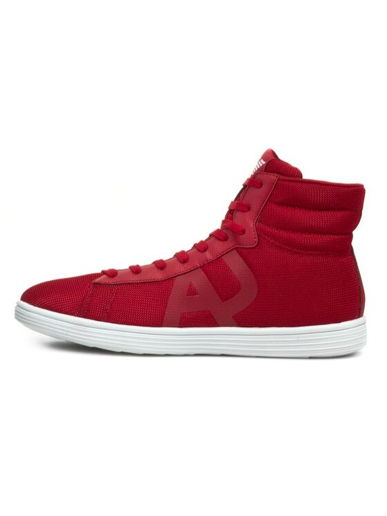 Armani Jeans Armani Jeans Chaussures basses V6516 18 T4 Rouge