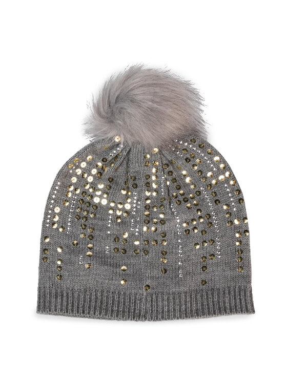 Guess Guess Čepice Not Coordinated Hats AW8216 WOL01 Šedá