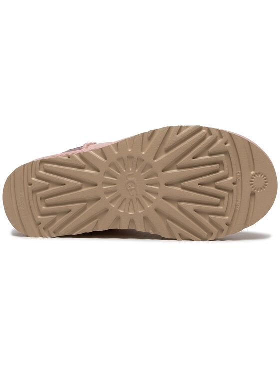 Ugg Ugg Pantofi W Classic Mini II Metallic 1112531 Roz