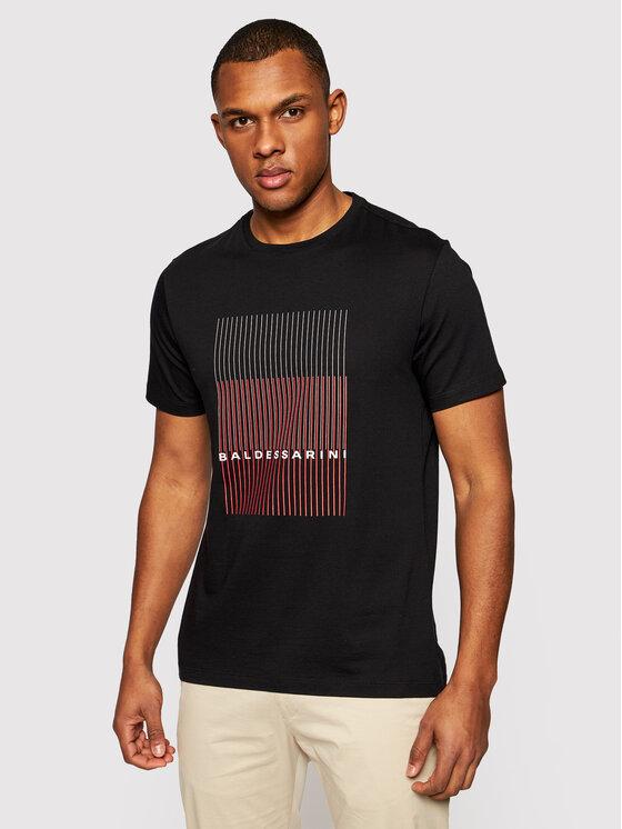 Baldessarini Marškinėliai 20010/000/5015 Juoda Regular Fit