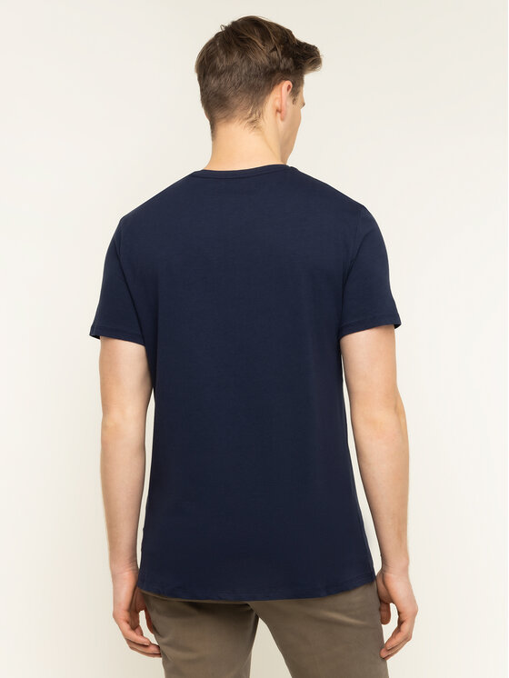Guess Guess Marškinėliai M01I77 J1300 Tamsiai mėlyna Regular Fit