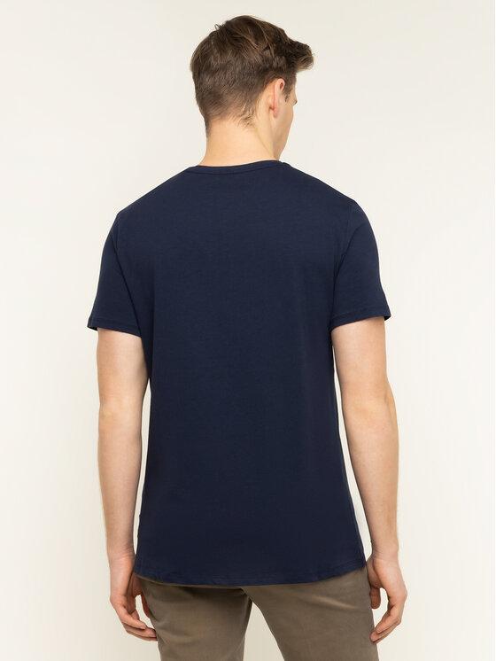 Guess Guess T-Shirt M01I77 J1300 Σκούρο μπλε Regular Fit