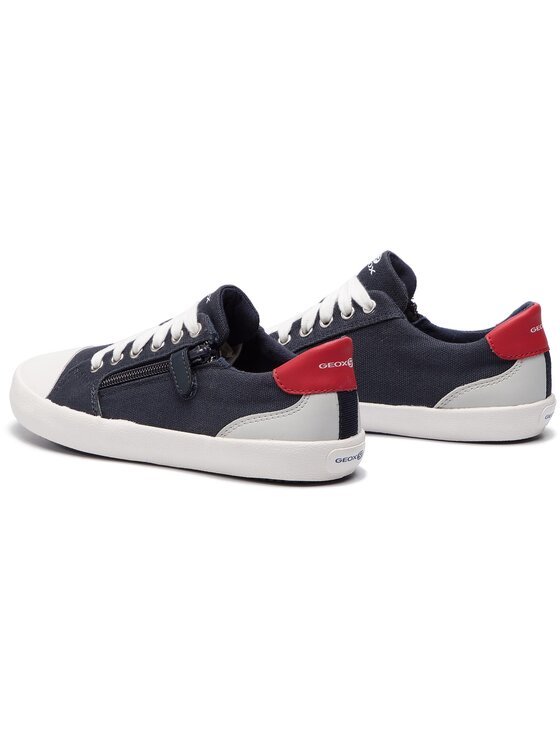Geox Geox Sneakers aus Stoff J Gisli B. A J925CA 01054 C0735 S Dunkelblau