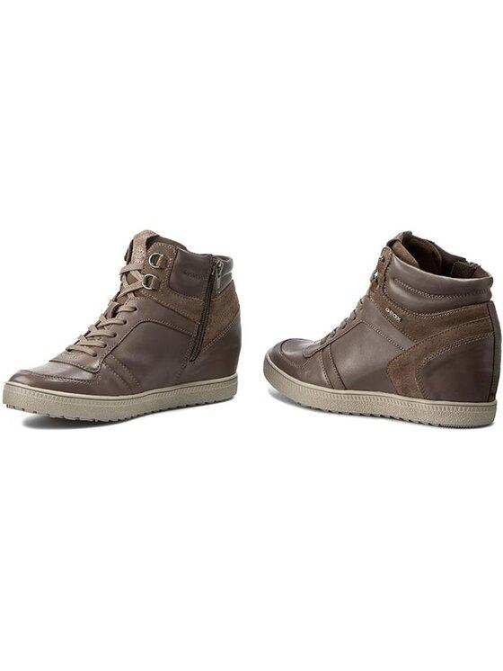 Geox Geox Sneakers D Amaranth H.D D54S9D 0CL22 C1018 Maro