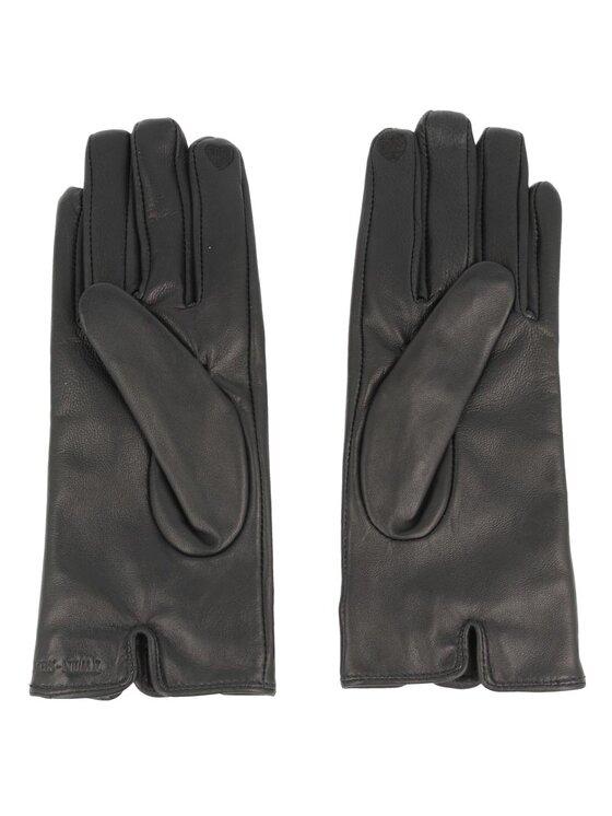 TwinSet TwinSet Damenhandschuhe Guanti C/Fiocco AA6GBQ S Dunkelblau