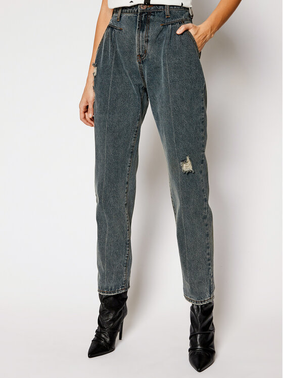One Teaspoon Jeansy Relaxed Fit St Walkers 23923 Tamsiai mėlyna Relaxed Fit
