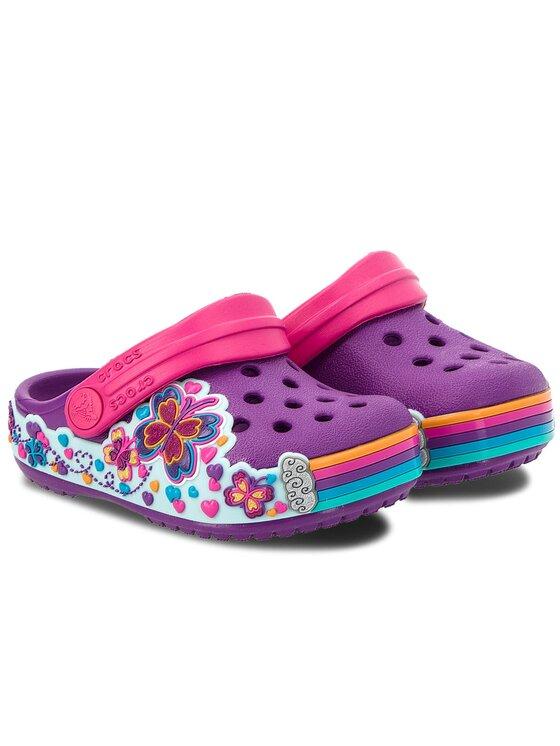 Crocs Crocs Чехли Cb Fun Lab Graphic Clg K 204983 Виолетов