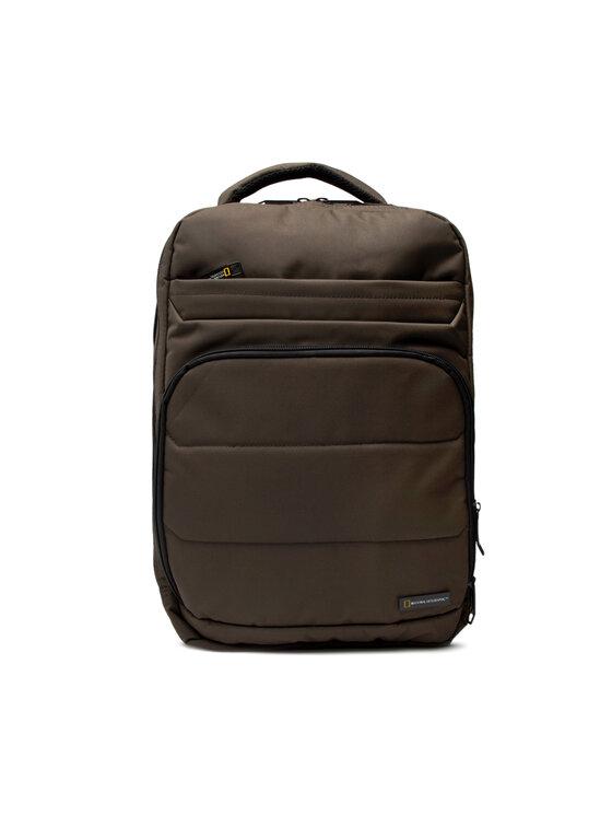 National Geographic Kuprinė Backpack 3 Compartments N00710.11 Žalia