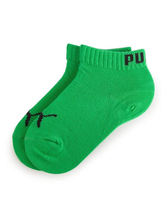 Puma Puma Lot de 3 paires de chaussettes basses enfant 194011001 Gris