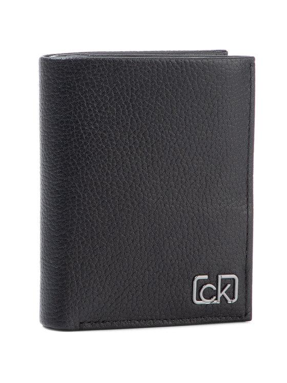 Calvin Klein Calvin Klein Duży Portfel Męski Ck Signature Pb Mini 6Cc Wi Coin K50K505307 Czarny