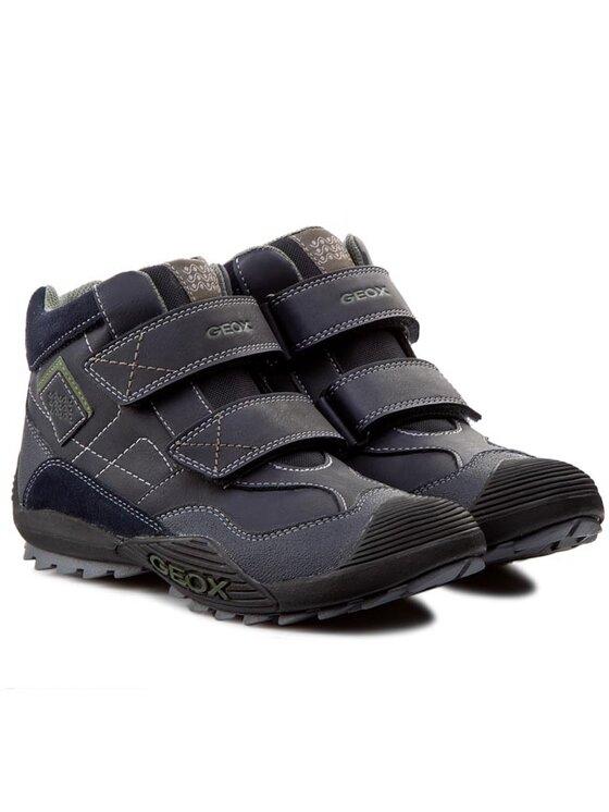 Geox Geox Обувки J Savage A J5424A 05422 C4002 Син