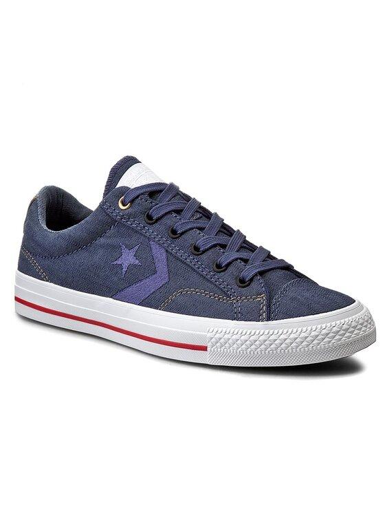 Converse Converse Tenisówki Star Player Ox 151308C Granatowy