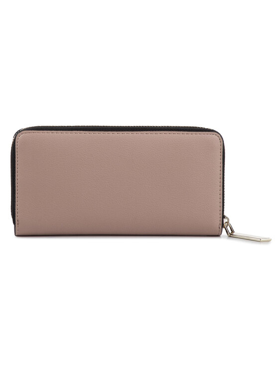 Calvin Klein Calvin Klein Duży Portfel Damski Ck Must Lrg Ziparound K60K605468 Różowy