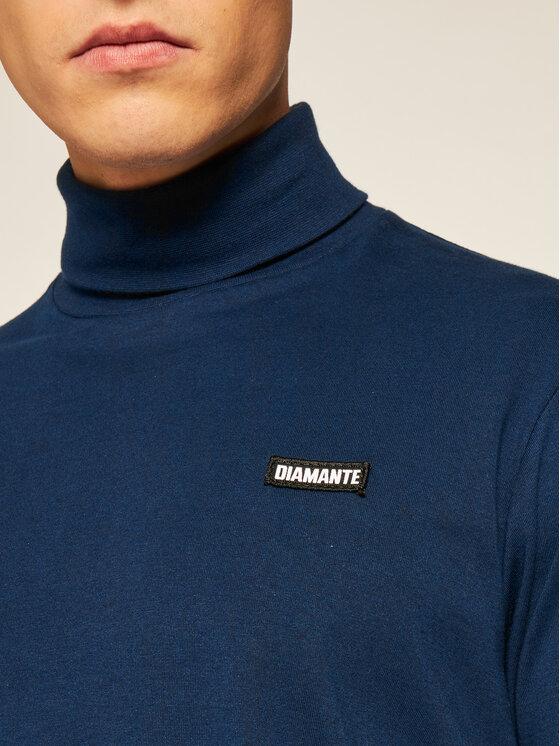 Diamante Wear Diamante Wear Golf 5369 Granatowy Regular Fit