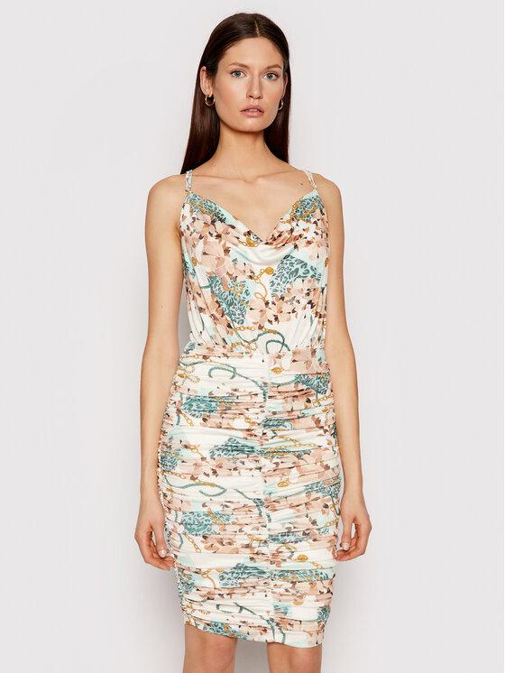 Marciano Guess Sukienka letnia 1GG725 6063A Kolorowy Slim Fit