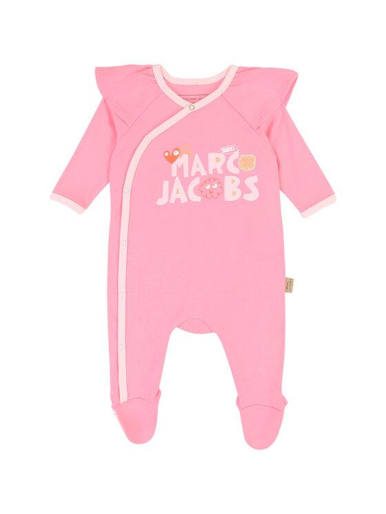 Little Marc Jacobs Little Marc Jacobs Śpiochy W97083 Różowy Regular Fit
