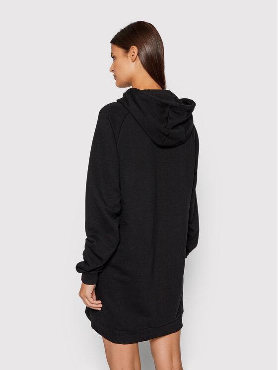 Ellesse Ellesse Плетена рокля Honey SGK13289 Черен Relaxed Fit