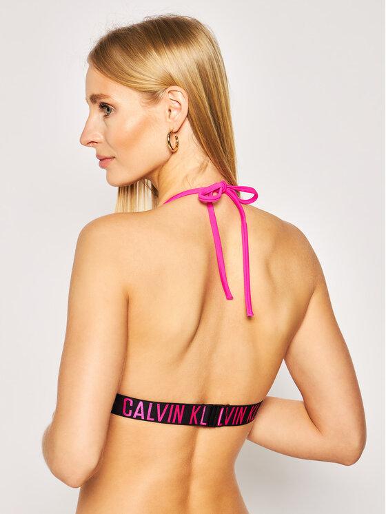 Calvin Klein Swimwear Calvin Klein Swimwear Vrchní část bikin Fixed Triangle KW0KW00883 Růžová